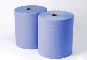 Blue Paper Jumbo Roll 280MM X 375M (pair)