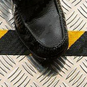 Grip Non Slip Anti Slip Tape Self Adhesive Conformable Black & Yellow 50mm x 18m