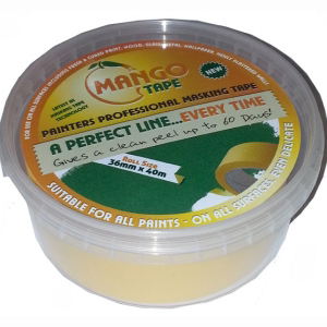 Mango Tape® Painters Masking Tape A Perfect Line Every Time 24mm x 40m (frog tape)
