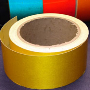 Reflective Tape Self Adhesive Yellow 25mm x 10m
