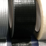 "Cloth / Gaffa / Gaffer Tape  Adhesive Black 2"" x 45m"