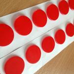 Titan Double Sided Acrylic Foam Discs 20mm x 2mm (550 per roll)