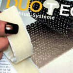 Duotec® Self Adhesive Reclosable Mushroom Fastener Clear 25mm x 3m