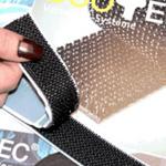 Duotec® Self Adhesive Reclosable Mushroom Fastener Black 25mm x 3m