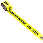 Exhibition Emergency Gangway Tape Keep Clear