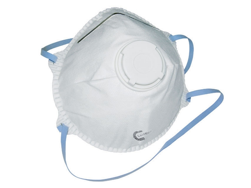 Flu Virus Face Mask Valved Particulate Respirator (DRP2V) FFP2 (5 Masks)