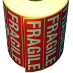 "Self Adhesive Label ""FRAGILE"""