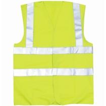 Hi-Vis Waistcoat Yellow Large