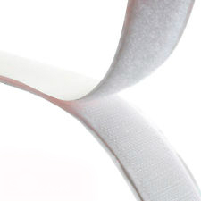 Rip 'n' Grip Tape LOOP White High Tack Rubber Adhesive 50mm x 25m