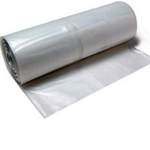 Polymax Polythene Poly Sheeting / Roll Clear 4M x 25M