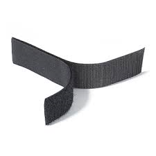 Rip 'n' Grip Tape HOOK Black Sew-on 30mm x 25m