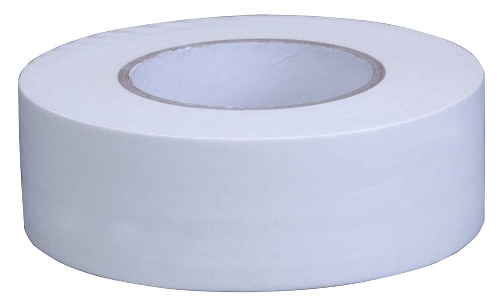 """Pro Grade Gaffer Tape Matt Finish Easy Peel Peelable Low Tack 2"""" x 50 White"""